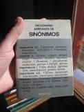 Sinonomos, Thesaurus en Espanol
