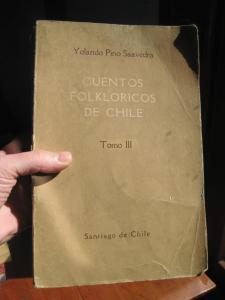 Yolando Pino Saavedra, Cuentos Folkloricos de Chile, Tomo III, Santiago Chile